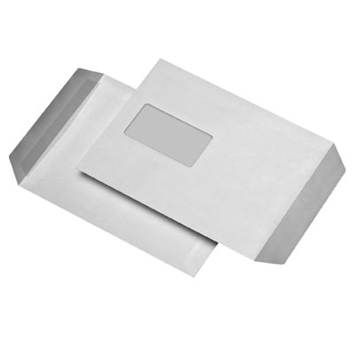 Briefumschläge C5, selbstklebend, mit Fenster, 90g/m²