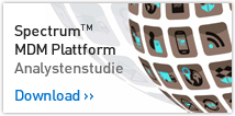 SpectrumTM MDM Plattform - Analystenstudie. Download >>