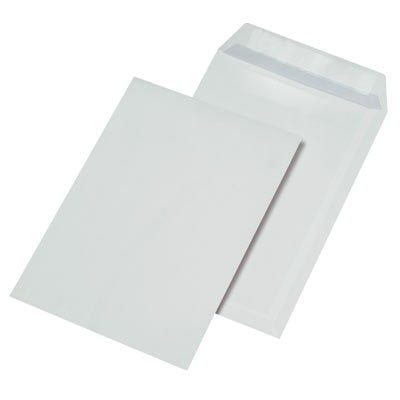 Briefumschläge C4, selbstklebend, ohne Fenster, 90g/m²