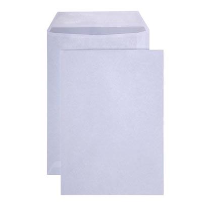 Kuvertiertaschen C4 ohne Fenster 90g/qm, nassklebend